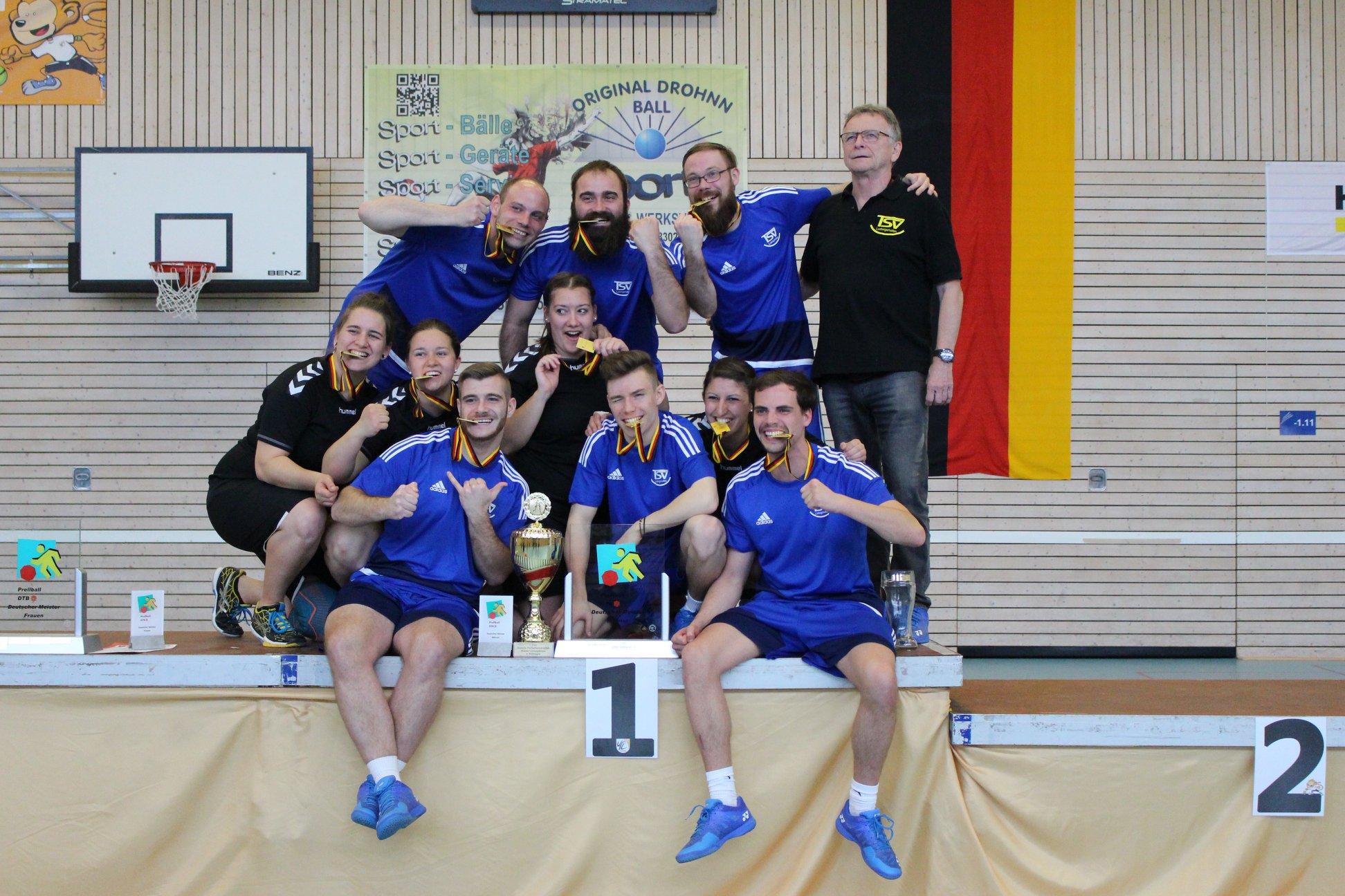 TSV Ludwigshafen und TV Freiburg St. Georgen auf dem Siegertreppchen